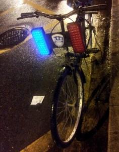 rower z kogutem