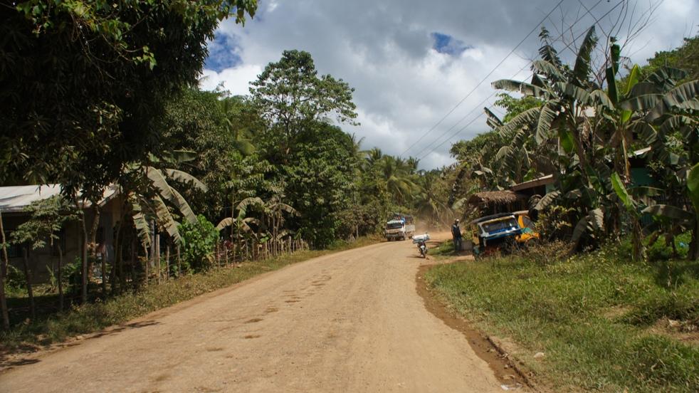 droga w okolicach El Nido