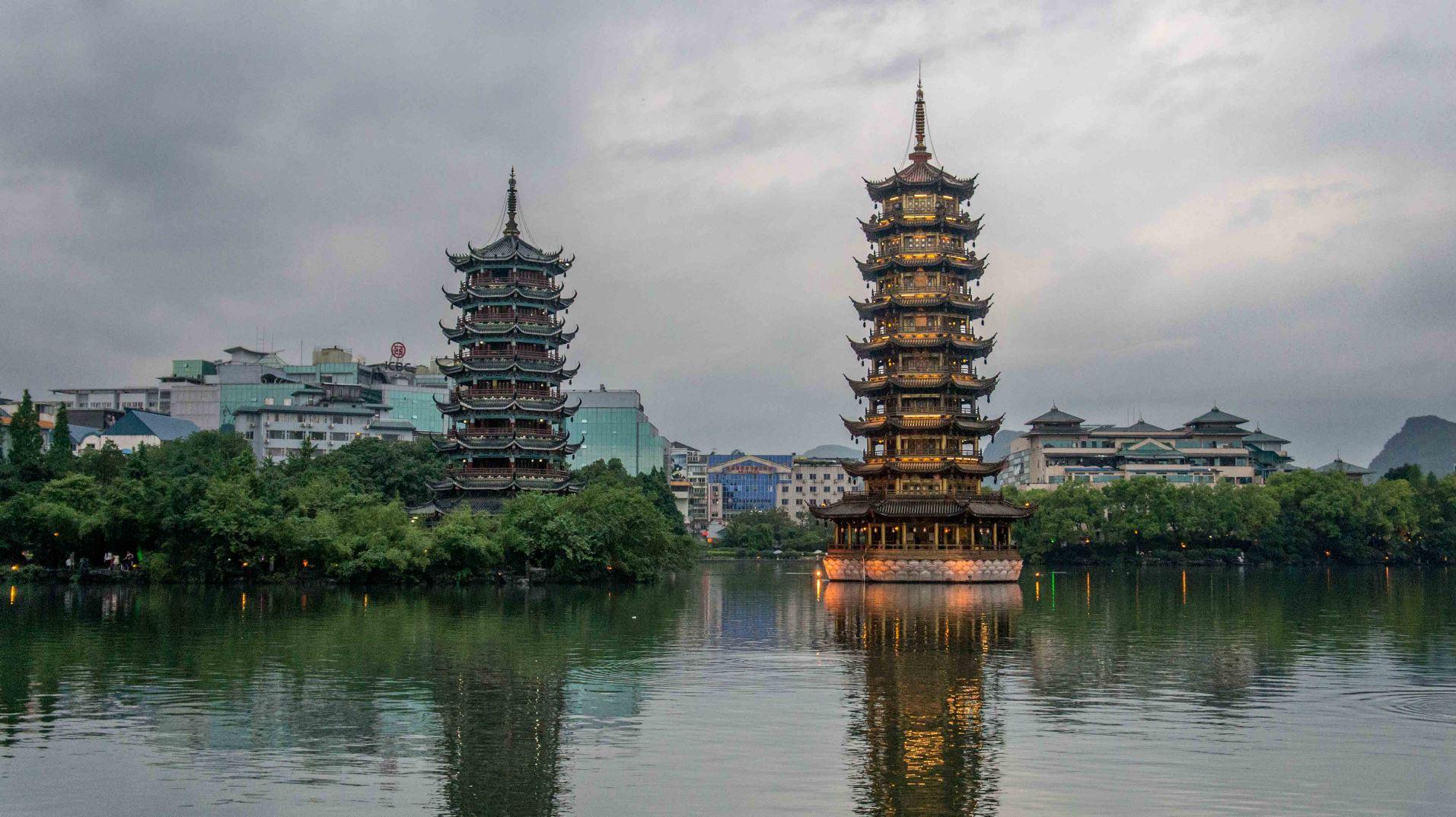 co zobaczyć w Guilin