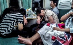 chińskie pociągi