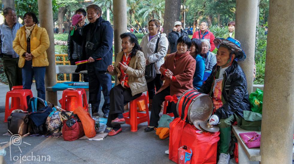 seniorzy w Chinach