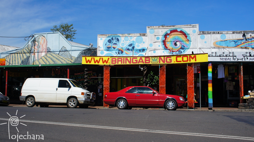 hipisowska wioska w Australii