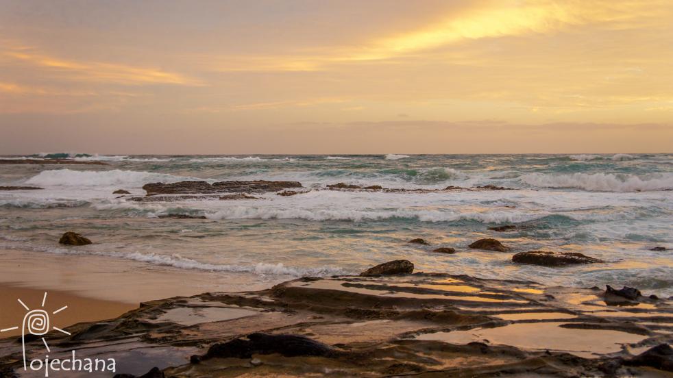 zachód słońca - Australia