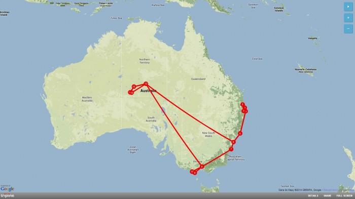 Australia-tripline