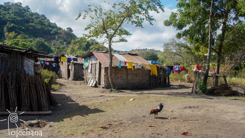 wioska u stóp wulkanu