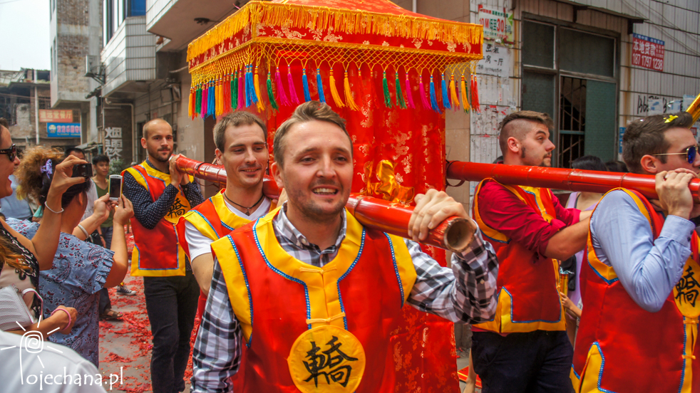 wesele w Chinach