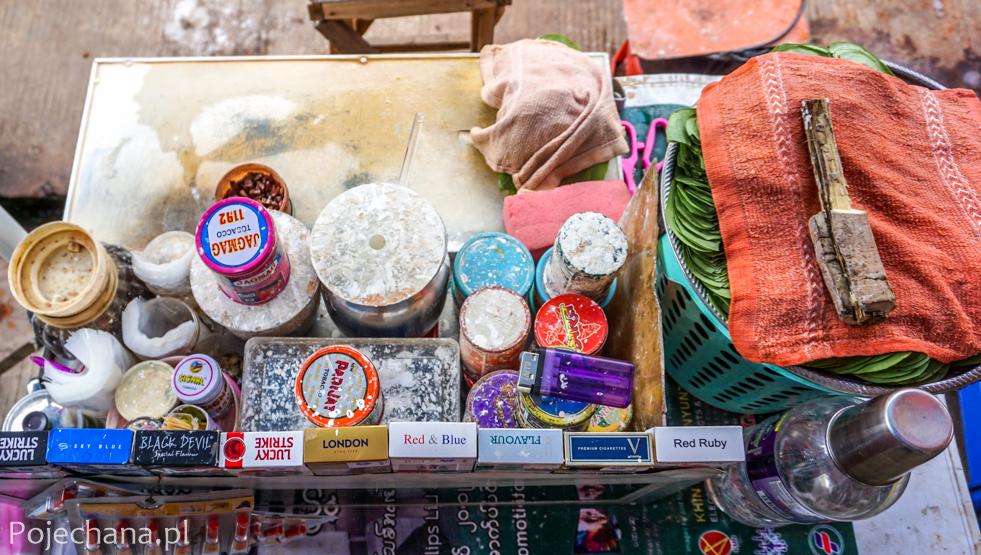 ciekawostki o Birmie: betel