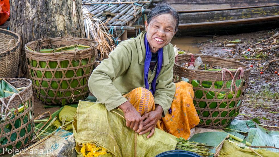 ciekawostki o Birmie: thanaka