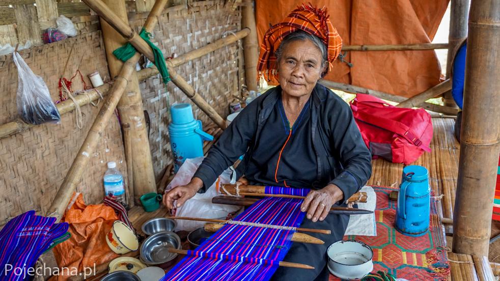 kobieta z mniejszości Shan