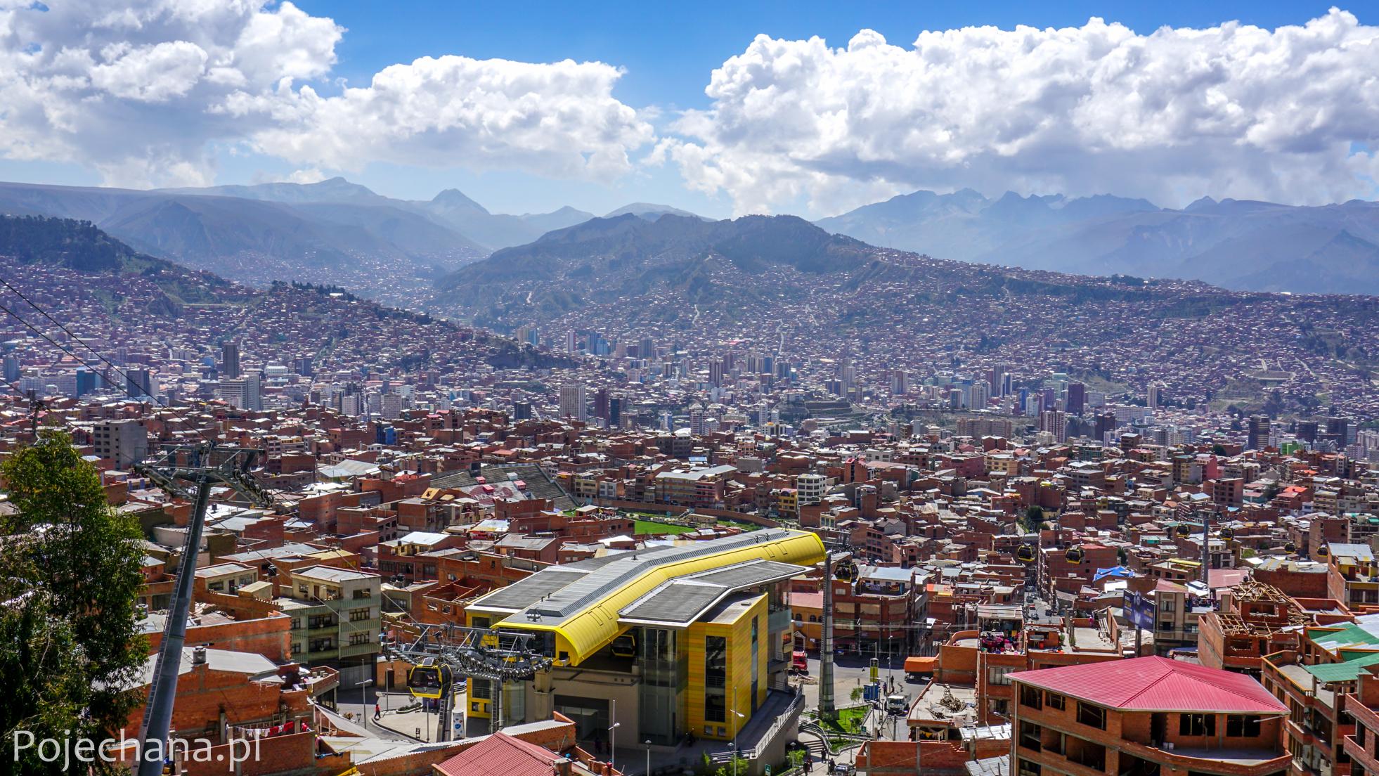 widok z El Alto