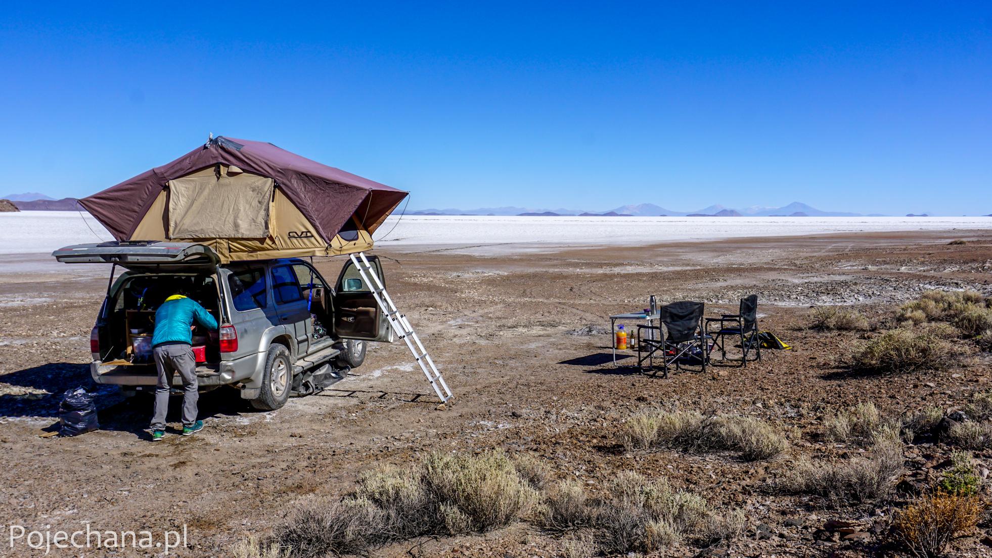 podróż samochodem przez Boliwię