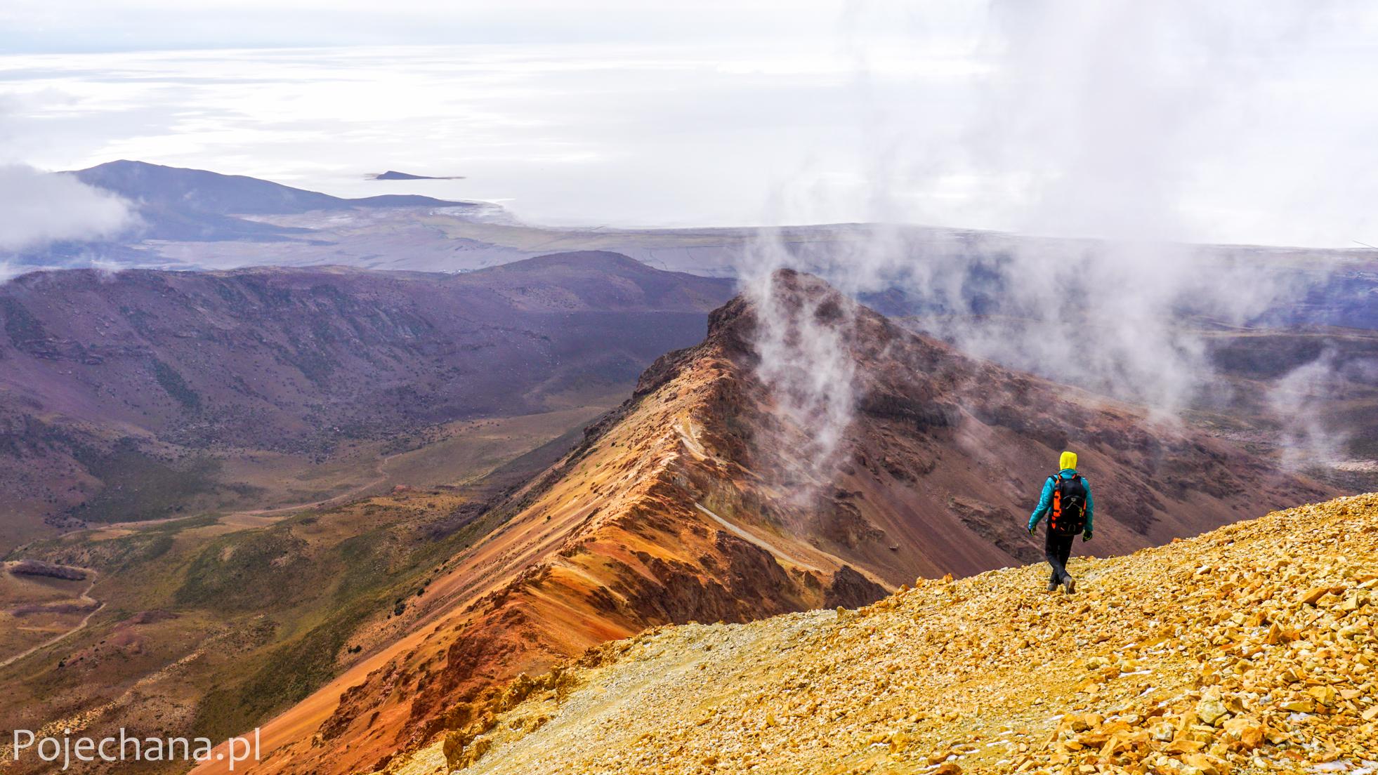 wulkan Tunupa - Salar de Uyuni
