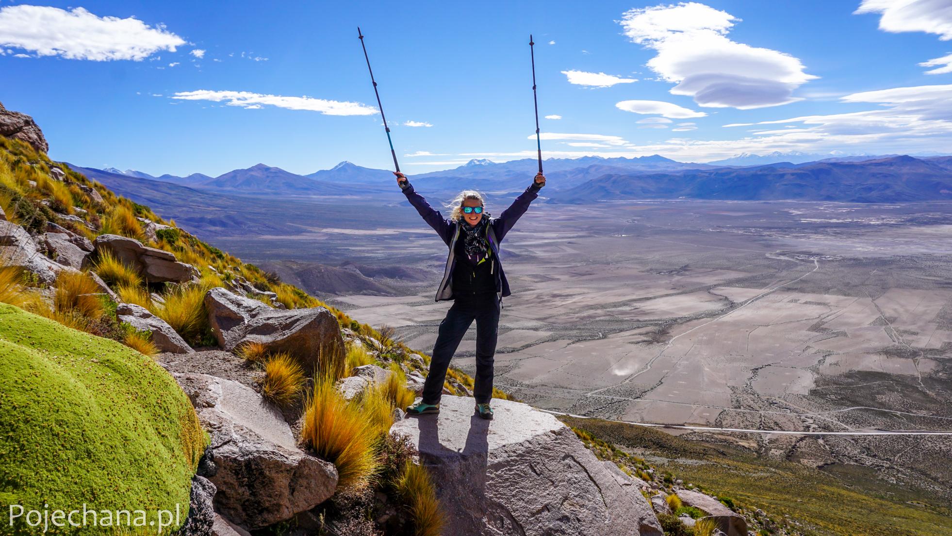 Aleksandra Świstow w Boliwii