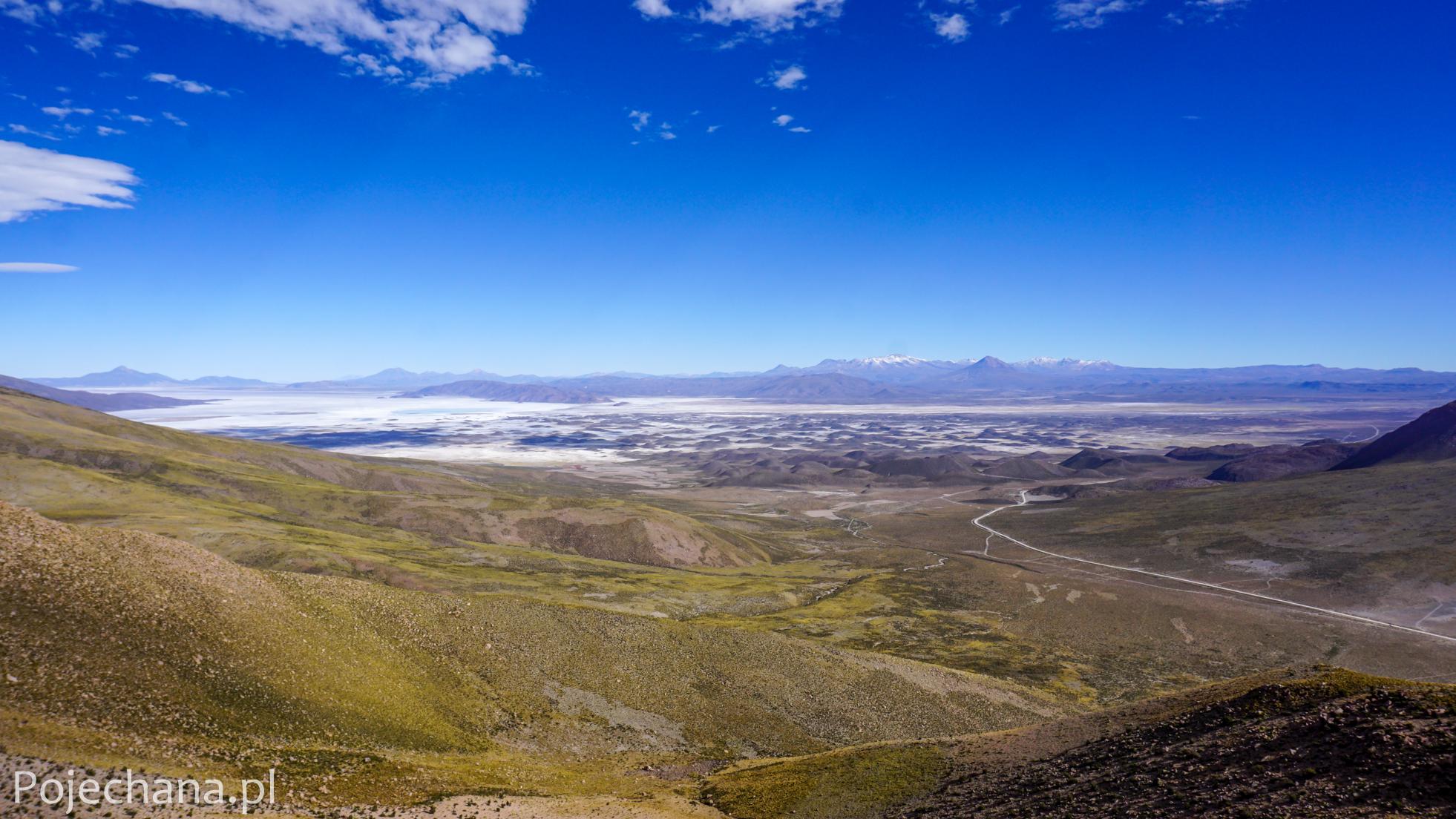 widok na Altiplano