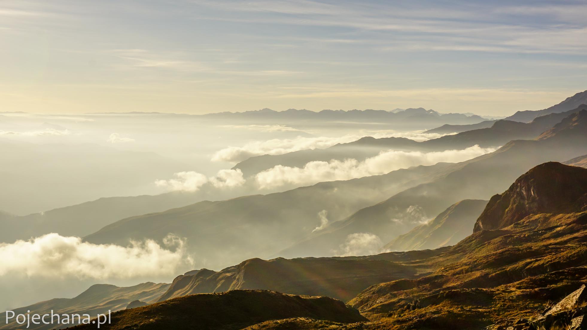 widok na Peru