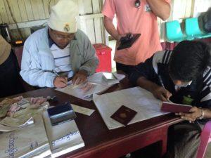 wypisywanie biletów w Birmie