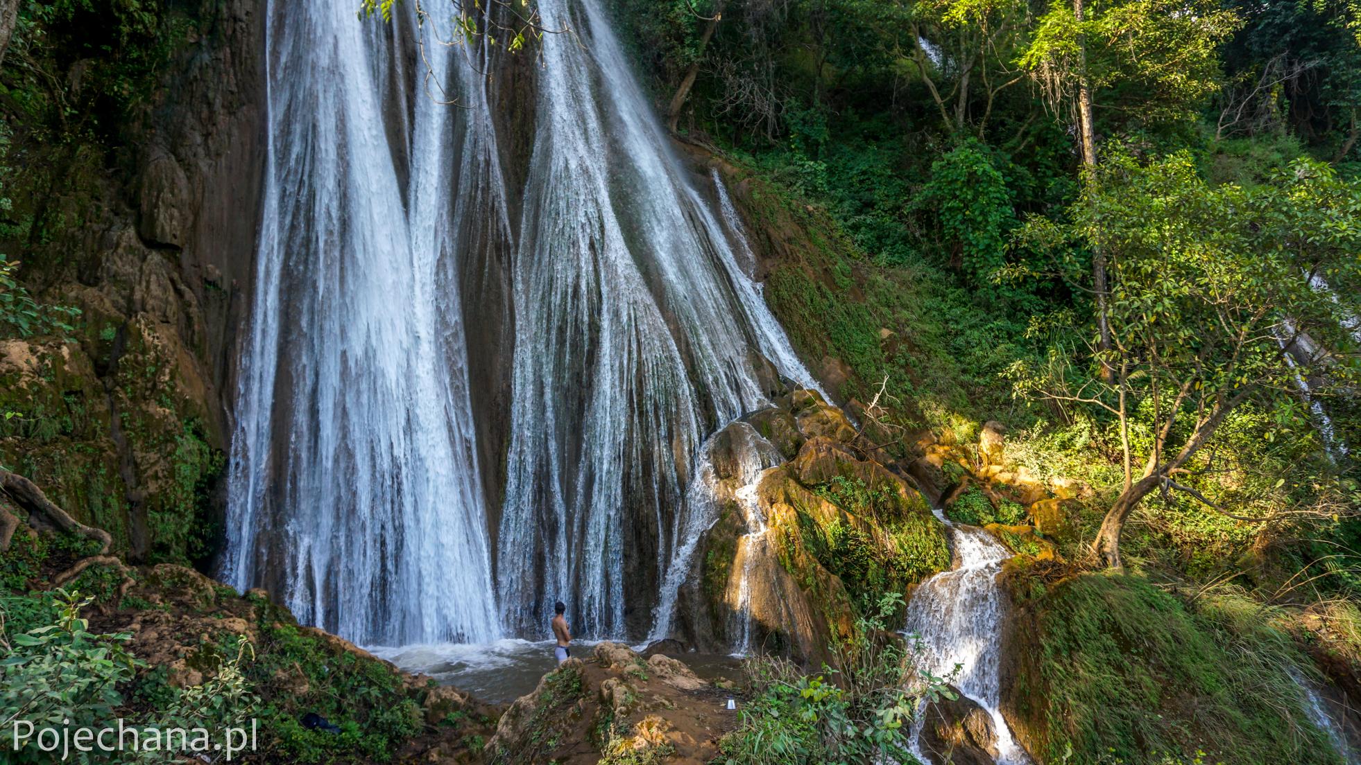 Hsipaw - wodospad