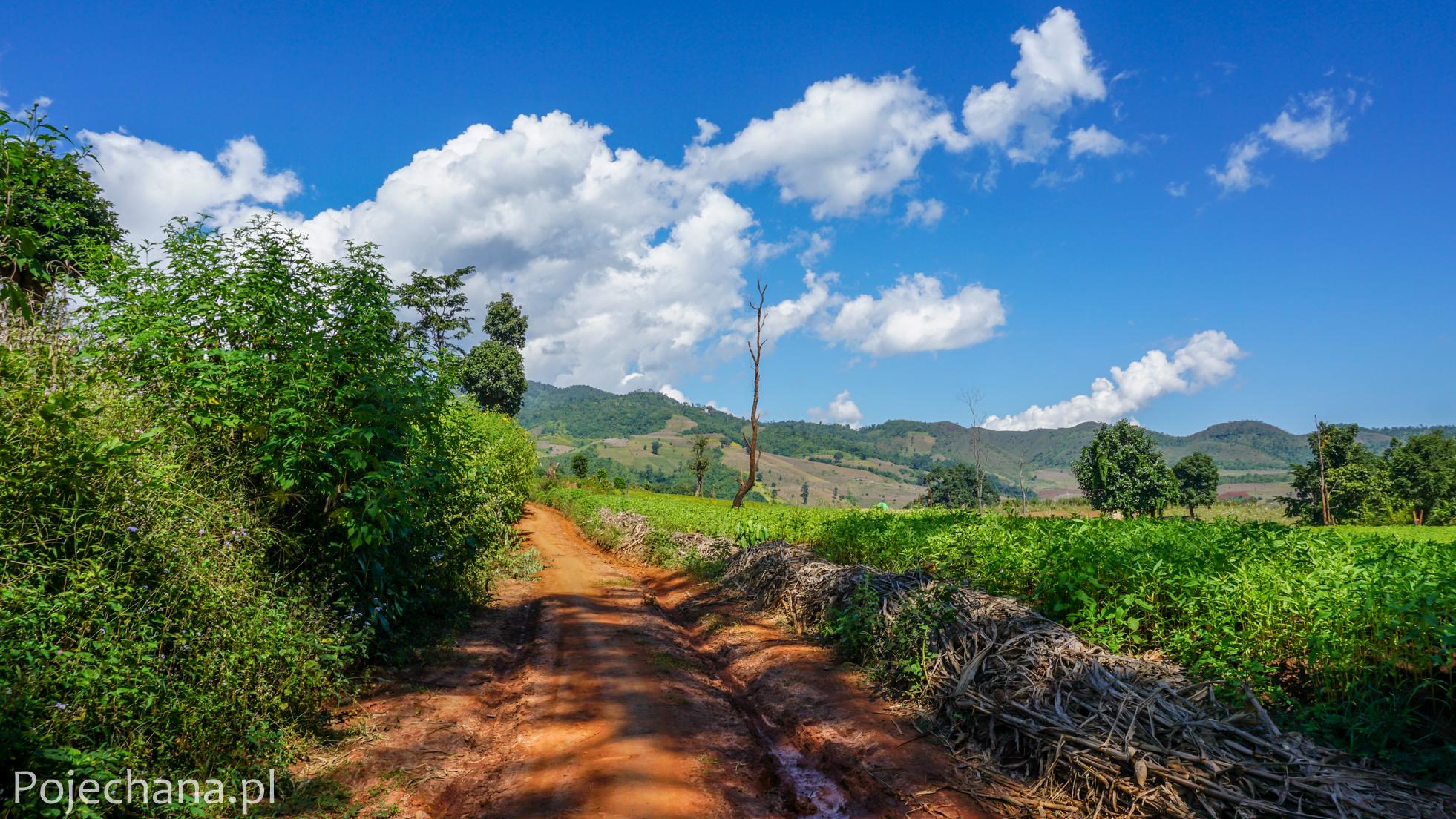 trekking w Birmie