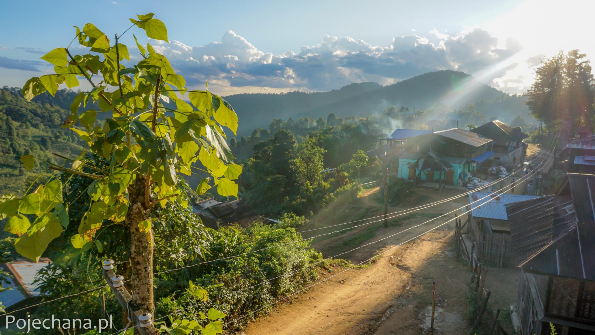trekking w Mjanmie