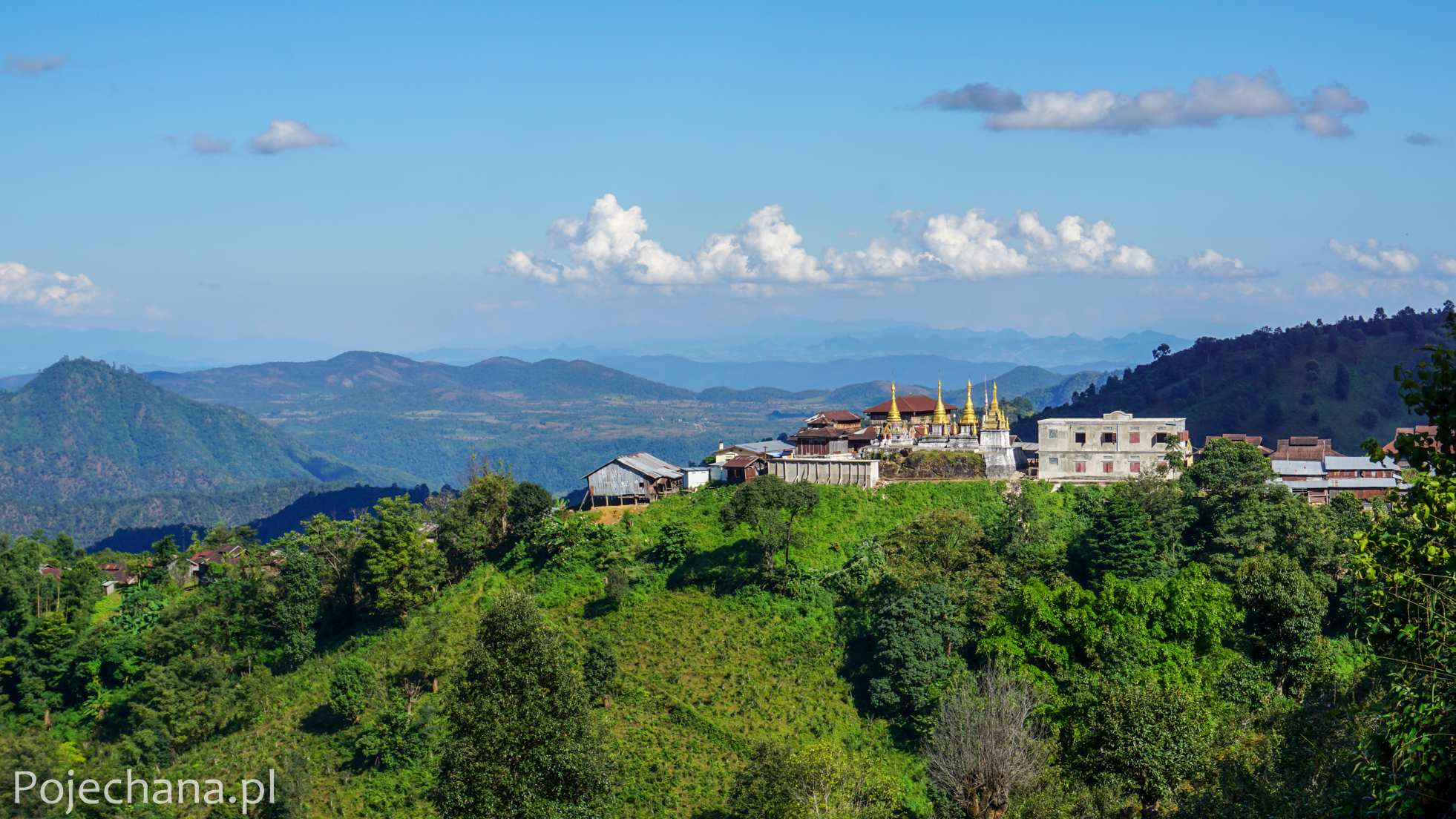 trekking Birma